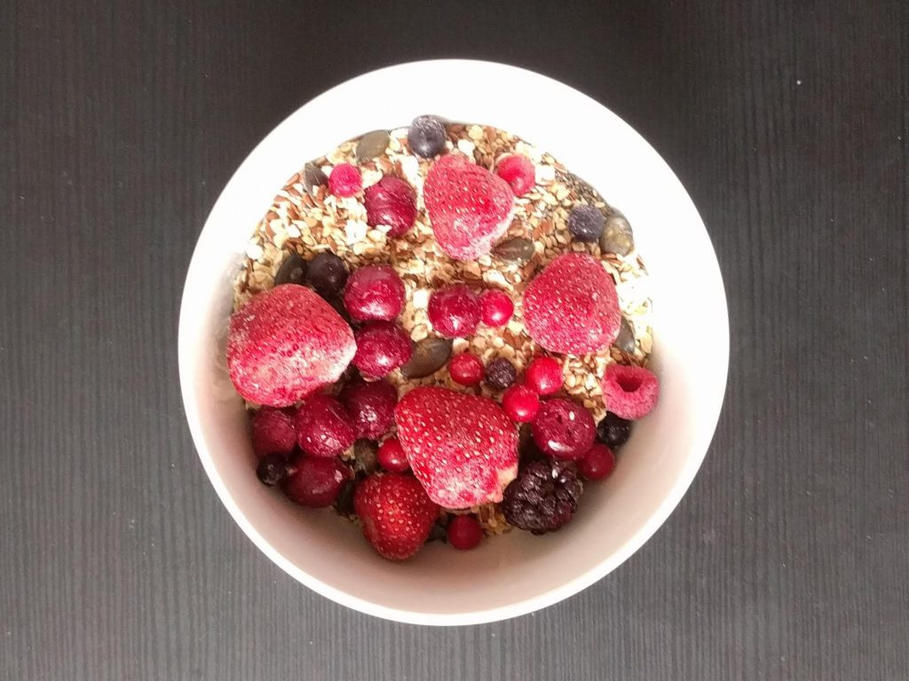 Oats, Seeds and Berries