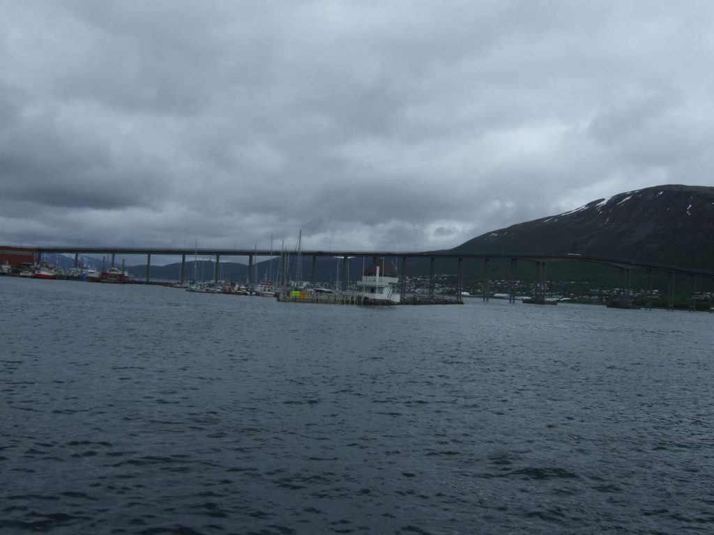 Tromso Bridge from the distance