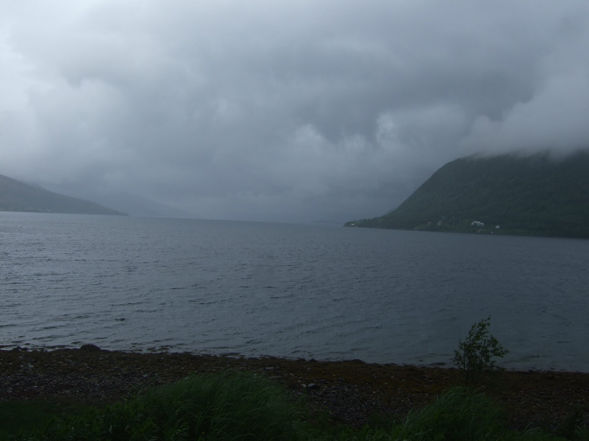The fjord to north of Kaldfjorda