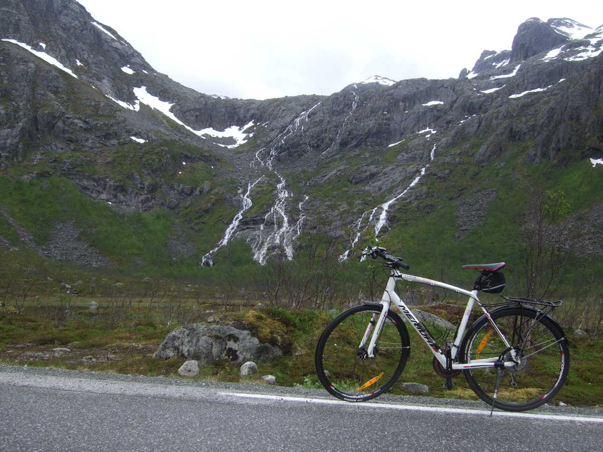 My bicycle at Grotfjord
